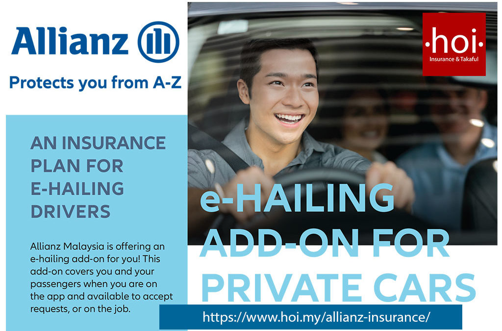 E-Hailing (GRAB) Insurance Add-On for Malaysia's Private Cars